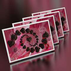 Trapped At The Lifetime Supply Of Chocolate Job - Mini Art Cards