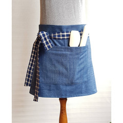 Half Denim Apron