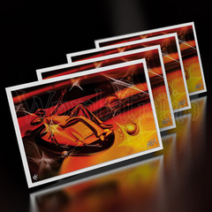Window Shopping For A Way Back Home - Mini Art Cards