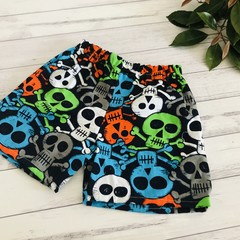 Skull Shorts, Size 4, Boys Shorts