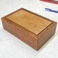 Keepsake Box | Trinket Box | jewellery Box | Wood Box In Silky Oak + American Oa
