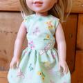 """Green Dress for 35 cm (14"""") Doll"""