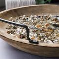 Ocean Shell Tray, Fruit Bowl, Rustic Bowl, Ocean Art, Industrial Chic Plate