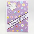 Thinking of You - Flower Print, purple