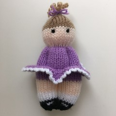 Tahli -  Hand Knitted Doll