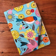 Note Pad Cover - Bird