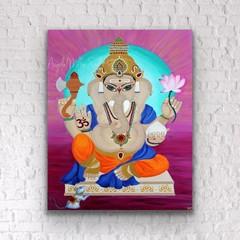 Lord Ganesh wall art -  Ganesh home décor -  Elephant god art print Lord Ganesha