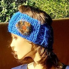 Bright Blue Headband