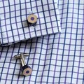 Cuff links made form coloured pencils - unique male teacher gift