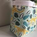 Large fabric planter   Storage basket   Pot cover   LEOPARDS