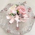 Ladies  faux  Flower Corsage