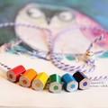 childrens coloured pencil necklace - lupidupi handmade  - children's jewellery -