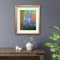Elephant wall art - Elephant home décor -  Elephant art print - Mother & Child