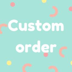 Custom orders - polymer clay earrings