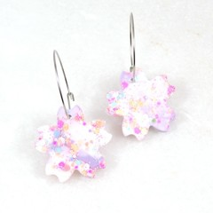 Spring Flowers Collection - light pink, white & light purple mix