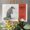 2021 Calendar Australian wildlife - A4 wall calendar - Christmas corporate gift