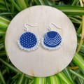 Oval Dotti Earrings