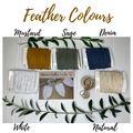 DIY Macrame Feather Kit - Make your own macrame feathers
