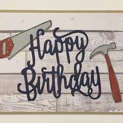 Male Birthday Handmade Card