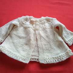 Baby matinee jacket
