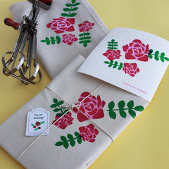 Roses design ''The Swedish Chef'' gift pack