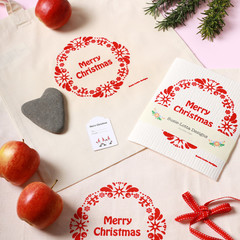 Scandi Merry Christmas ''Clean & Green'' gift pack