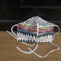 3 Layered Waterproof lined Mask - Aztech (ready to ship)