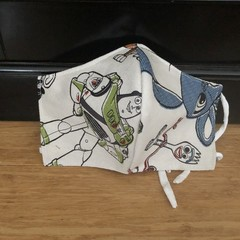 3 Layered Waterproof lined Mask - Toystory (ready to ship)