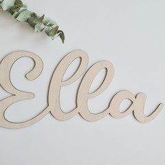 Custom Name Sign ~ Personalised Name Sign ~ Wooden Name ~ kids' décor ~ Wooden N