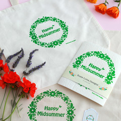 Happy Midsummer ''Clean & Green'' Nordic gift pack