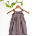 Cotton Toddler Sundress with Pockets Size 3