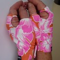 Gloves, sungloves,fingerless, (pair) cycling, walking sun protection,free post