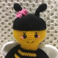 Bee: Crochet Toy,  Girl Gift, Boy Gift