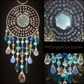 Blue Onyx Star Suncatcher
