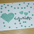Congratulations card  - wedding - engagement - anniversary - baby - new parents