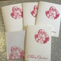 4 Christmas Handmade Card pack