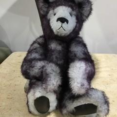 Grey and black Teddy Bear