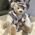 Cream coloured wavy German Mohair Teddy Bear