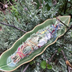 Lavender, Rose & White Sage Smudge Stick