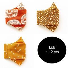 Kids Linen & Organic Cotton Face Mask