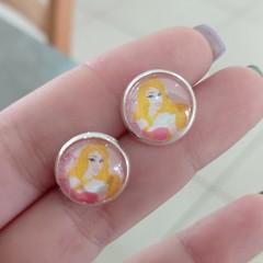 Sleeping Beauty Jamberry stud earrings