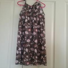 Summer beach dress size 6 to 8 yrs.