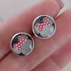 Minnie Mouse Jamberry stud earrings