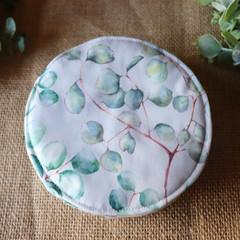 Reusable Breast pads-  Gum leaf