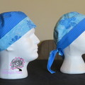 reversible scrub hats