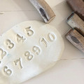 Toys of Wood - Stamp set of numbers 0-9