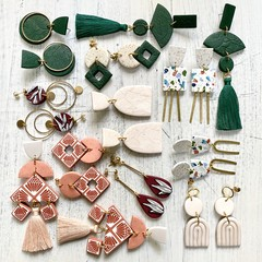 Custom listing for Bernice x 12 pairs of earrings