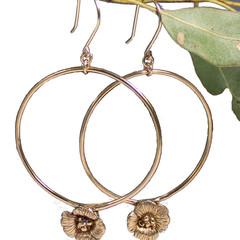Poppy Jane Hoop Earrings