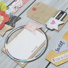 Scrapbook & Journal Embellishments Set 2