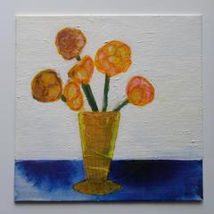 Original Flower Still Life Artwork Ready To Ship